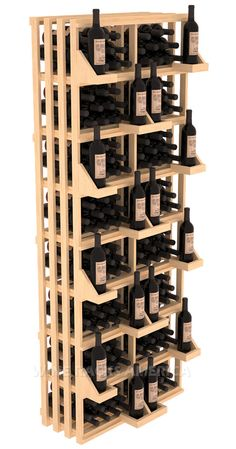 Rectangular Bin Wall Display 208 Bottle $309 - Pinning for when I can afford to have an extensive wine selection.