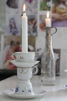 recycle...this is so perfect....love the idea now I will be collecting more cups and sausers