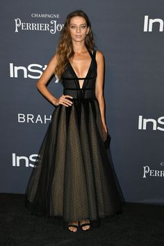 Angela Sarafyan in Georges Chakra Couture At Annual InStyle Awards in Los Angeles (I) Angela Sarafyan, Oscars Red Carpet Dresses, Oscar Fashion, Hollywood Heroines, Nice Dresses, Formal Dresses, Russian Models, Celebrity Red Carpet, Hollywood Fashion