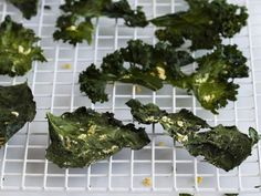 Kale Chips with Lemon and Ginger from 'Salty Snacks' on Yummly. @yummly #recipe