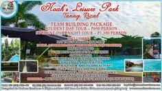 Team Building Package, Noah's Leisure Park, P1,390/person, Book now!  reservations@truenorthtraveltours.com, #teambuilding #corporate #school #gad #tourism #manpower #corporation #philippines #manila #students
