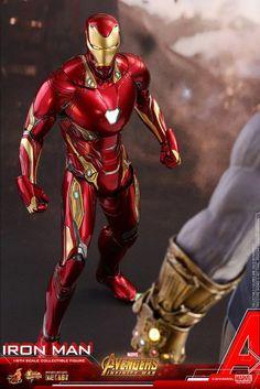 Twitter Marvel Comics, Marvel Avengers, Arm Cannon, Iron Man Action Figures, Iron Men 1, Iron Man Armor, Sideshow Collectibles, Avengers Infinity War, Tony Stark