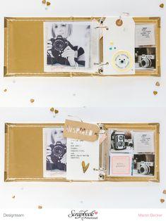 Inspirationsgalerie - Minialbum Werkstatt - Minialbum mit Maren Becker