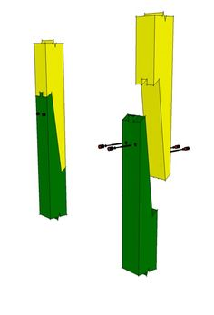 Post or Rafter Scarf Joint -.http://timberframehq.com/post-or-rafter-scarf-joint/?utm_content=buffera3d0f&utm_medium=social&utm_source=pinterest.com&utm_campaign=buffer