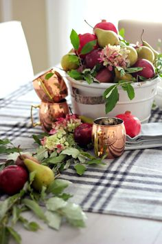 Craftberry Bush - Thanksgiving centrepiece ideas