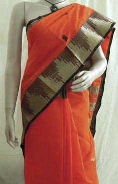 Pure Cotton Handloom Saree