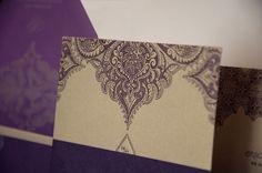 Henna design card