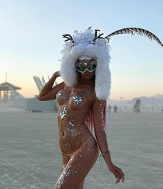 Burning Man fashion from Ukraine || burningman 2017