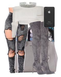 """""""soooooooo im laying on bed"""" by th3-qu33n-25 ❤ liked on Polyvore featuring Gianvito Rossi and Incase"""