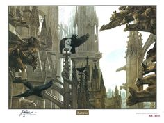 Fantasy Artist is out today! RT @FantasyArtMag to win a ltd edition signed John Howe print