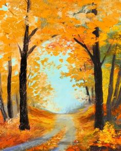 We host painting events at local bars. Come… Paint Nite. We host painting events at local bars. Come… Paint Nite. We host painting events at local bars. Fall Canvas Painting, Autumn Painting, Autumn Art, Scarecrow Painting, Simple Acrylic Paintings, Easy Paintings, Acrylic Painting Trees, Painting Pictures, Canvas Paintings