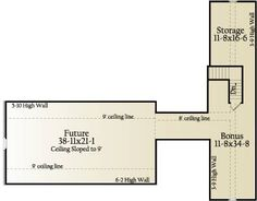 Second Floor Plan image of Cross Creek House Plan