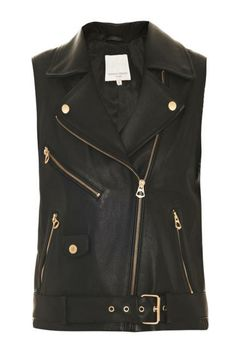The perfect leather vest by Opening Ceremony