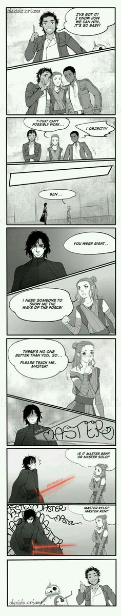 Star Wars: Player Poes Plan by alexielart.devian on - Finn Star Wars - Ideas of Finn Star Wars - Star Wars: Player Poes Plan by alexielart. Star Wars Kylo Ren, Finn Star Wars, Star Wars Love, Rey Star Wars, Star Wars Art, Star Trek, Star Wars Comics, Star Wars Humor, Amour Star Wars
