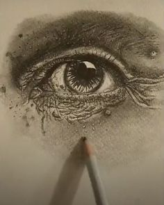 Detail portrait of old person Person Sketch, Eye Sketch, Old Person, Art Sketches, Artists, Detail, Eyes, Portrait, Headshot Photography