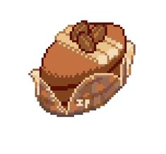 Pixel Art Food, Food Art, Kawaii Drawings, Easy Drawings, Gourmet Bakery, Pixel Characters, Isometric Art, Cata, Video Game Art