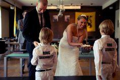 huwelijk bruiloft bruidsjongens ringen ring security
