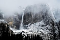 #Yosemite during a snowstorm