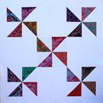 Heather Jones Pinwheel Spinning Around - Downloadable Pattern
