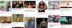 Athletic Performance Pinterest Board