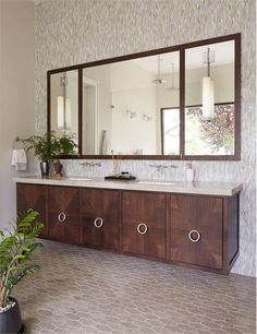 Sunny Transitional Bathroom by Tineke Triggs on HomePortfolio