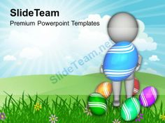 Surprise Bunny Easter Eggs For Family Powerpoint Templates Ppt