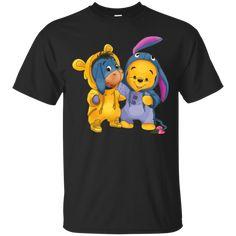 Eeyore And Pooh T Shirt Hoodie Sweatshirts