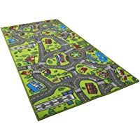 kids bedroom decor Kids Carpet Playmat Rug City Life Great For Playing With Cars and Toys - Play, Learn and Have Fun Safely - Kids Baby, Children Educational Road Traffic Play Mat, For Bedroom Play Room Game Safe Area - kids room decor