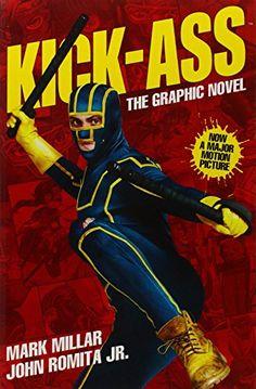 Kick-Ass by Mark Millar http://www.amazon.co.uk/dp/1848565356/ref=cm_sw_r_pi_dp_xXNdwb080TAR4