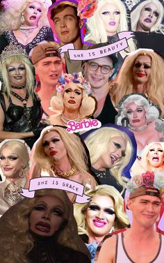 Pearl Liaison, Pearl Face Collage RPDR 7.