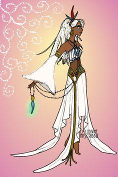 Kida Wedding dress! ~ by pigobest ~ created using the Erte Elegance doll maker | DollDivine.com