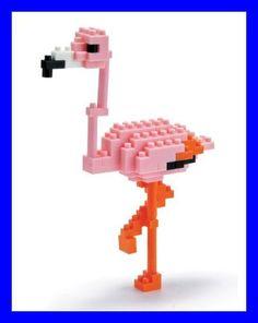 Japanese nanoblock Greater Flamingo Kawada NEW   eBay