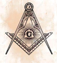 48003740-Freemasonry-emblem-masonic-square-compass-God-symbol-Trendy-alchemy-element-Design-tattoo-art-Isolat-Stock-Vector.jpg (1181×1300)                                                                                                                                                                                 Mais