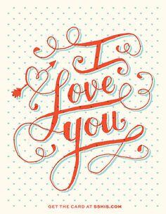I Love You   © Ross Moody   55His.com