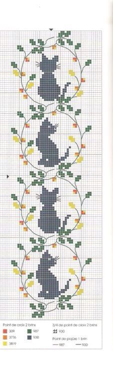 Thrilling Designing Your Own Cross Stitch Embroidery Patterns Ideas. Exhilarating Designing Your Own Cross Stitch Embroidery Patterns Ideas. Cat Cross Stitches, Cross Stitch Bookmarks, Cross Stitch Charts, Cross Stitch Designs, Cross Stitching, Cross Stitch Embroidery, Embroidery Patterns, Cross Stitch Patterns, Crochet Cross
