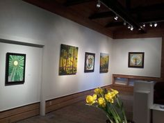 Sacred Woods exhibition with artists Gaia Orion and Leanne Baird at Rails End Gallery and Arts Centre, Haliburton until May 25th !