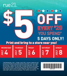 photo relating to Rue 21 Printable Coupons identified as Rue 21 coupon codes within retail store 2018 - Reasonably priced lodge bargains liverpool