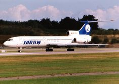Tupolev Tu-154B-1 - Tarom Tarom Airlines, Commercial Plane, Sukhoi, Transportation, Aircraft, Romania, Vehicles, Trident, Airplanes