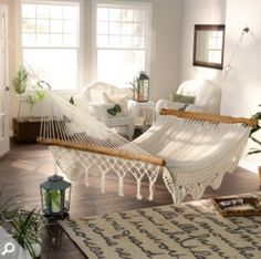 Why should relaxing in a hammock be reserved for nice days outside?