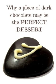 A piece of dark chocolate may be the perfect dessert #NebExt
