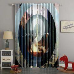 Boys Room Curtains, 3d Curtains, Custom Curtains, Blackout Curtains, Panel Curtains, Custom Bedding, Bedroom Windows, Shop Window Displays, Destiny