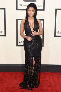Can someone say cleavage envy <3 #GRAMMYs