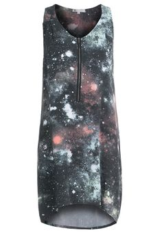 Volcom STONES IN SPACE Summer dress charcoal