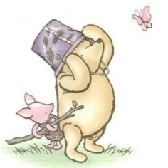 "Piglet: ""It is hard to be brave, when you're only a Very Small Animal."" ― A.A. Milne, Winnie-the-Pooh"