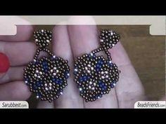 Free Seed Bead Earring Patterns - http://www.guidetobeadwork.com/wp/2013/05/free-seed-bead-earring-patterns-4/