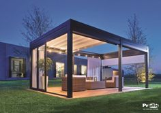 Retractable Awning Pergola Roof Idea