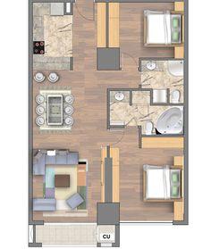 Căn hộ 2 phòng ngủ tòa R6 Royal City