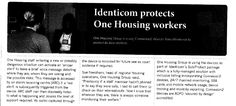 Identicom Protects One Housing Workers