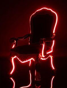Rad light-up chair