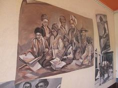 Exploring Bo Kaap in Cape Town - Murals depicting Cape Malay life